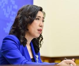 Việt Nam yêu cầu Trung Quốc chấm dứt tập trận ở quần đảo Hoàng Sa