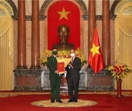 Giám đốc Học viện Quốc phòng được thăng hàm Thượng tướng