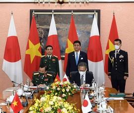 Việt Nam - Nhật Bản ký thỏa thuận chuyển giao thiết bị, công nghệ quốc phòng