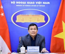 Việt Nam- Singapore trao đổi về kinh nghiệm chống dịch COVID-19
