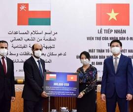 Vương quốc Oman hỗ trợ 300.000 USD cho nhân dân một số tỉnh miền Trung