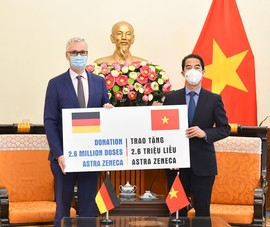 Đức sẽ tiếp tục sát cánh với Việt Nam giải quyết các thách thức của đại dịch