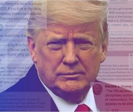 Ông Trump 'dùng nhiều từ ngữ tiêu cực hơn trên Twitter'
