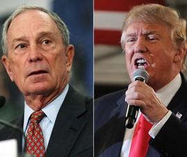 Tỉ phú Bloomberg khẳng định sẵn sàng chi mạnh loại ông Trump