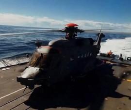 Một trực thăng NATO gặp nạn khi diễn tập ngoài khơi Hy Lạp