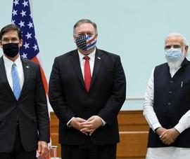 Hai Bộ trưởng Mỹ thăm Ấn Độ, Trung Quốc phản ứng mạnh