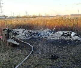 Nga: Máy bay rơi, gần như bị cháy trụi gần thủ đô Moscow