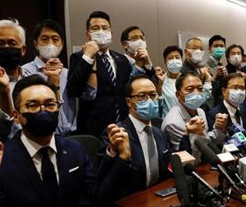 Bắc Kinh cảnh báo vụ 15 nghị sĩ Hong Kong đồng loạt từ chức