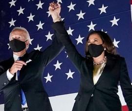 Ông Biden và bà Harris được xướng tên 'Nhân vật của năm' 2020