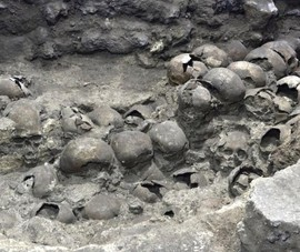 Mexico: Tìm thấy 119 bộ hài cốt tại tháp đầu lâu đế chế Aztec