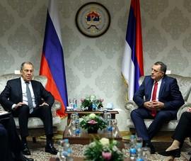 2/3 lãnh đạo Bosnia và Herzegovina tẩy chay Ngoại trưởng Nga