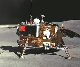 Tàu thám hiểm Trung Quốc mang đá Mặt trăng trở về Trái đất