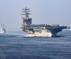 Đang căng thẳng với Iran, Mỹ rút tàu sân bay từ Trung Đông về