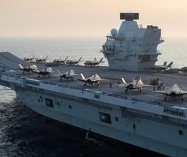 Anh sắp triển khai đội tác chiến tàu sân bay đến các điểm nóng