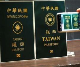 Đài Loan chính thức trình làng hộ chiếu mới