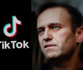 Nga: TikTok xóa video kêu gọi biểu tình vì ông Navalny