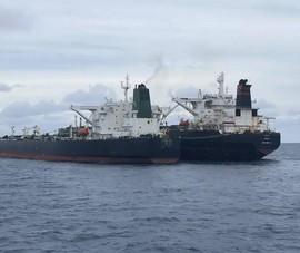 Indonesia bắt tàu chở dầu bất hợp pháp của Iran và Panama
