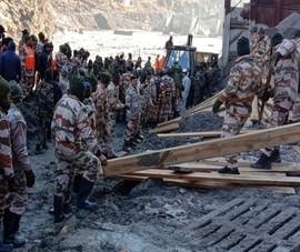 Vụ vỡ sông băng Himalaya: 171 người còn mất tích