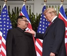 Ông Trump từng 'mời' ông Kim Jong-un lên Không lực Một