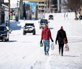 Rộ thuyết âm mưu chính phủ Mỹ tạo tuyết ở Texas