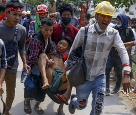 Myanmar: Thêm 18 người biểu tình bị bắn chết trong một ngày