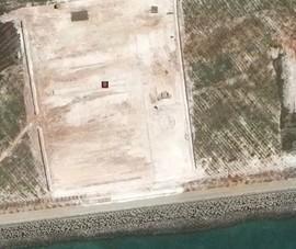 Ảnh vệ tinh: Trung Quốc tiếp tục bồi lấp trái phép ở đá Subi