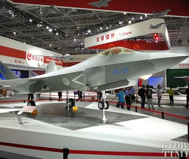 Trung Quốc phát triển chiến đấu cơ tàng hình cho tàu sân bay