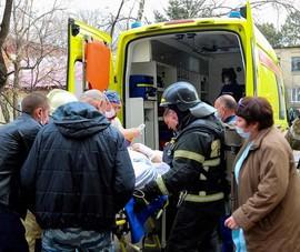 Nga: Phẫu thuật tim thành công ngay trong bệnh viện đang cháy