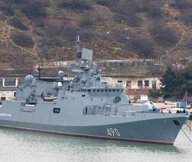 Tàu chiến Nga tập trận nội dung tấn công bán đảo Crimea