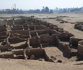 Phát hiện thành phố cổ đại lớn nhất Ai Cập