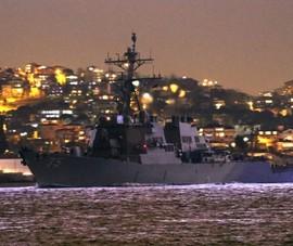 Mỹ hủy kế hoạch triển khai tàu chiến tới Biển Đen