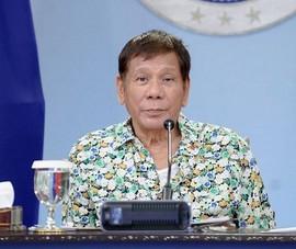 Ông Duterte: Sẽ cử tàu quân sự ra Biển Đông nếu TQ khoan dầu