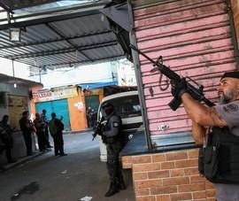 Brazil: Cảnh sát đấu súng với tội phạm ma túy, 25 người chết