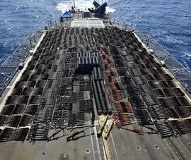 Vũ khí do Nga, Trung Quốc chế tạo bị Mỹ thu giữ ở biển Ả Rập