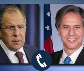 2 ngoại trưởng Mỹ, Nga điện đàm, đồng ý tuần sau gặp ở Iceland