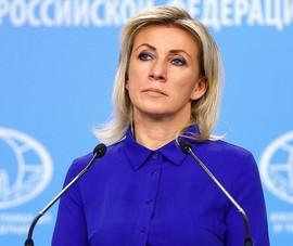 Bà Zakharova: Vụ Mỹ theo dõi bà Merkel 'chỉ là phần nổi của tảng băng trôi'