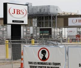 Nhà sản xuất thịt JBS thừa nhận trả nhóm tin tặc 11 triệu USD tiền chuộc