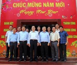 Ông Trần Thanh Mẫn làm việc với MTTQ Việt Nam TP Cần Thơ