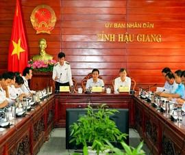 Kiểm toán Nhà nước công bố Quyết định kiểm toán tại Hậu Giang