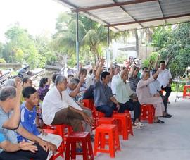 100% cử tri nơi cư trú đồng ý chủ tịch Hậu Giang ứng cử HĐND