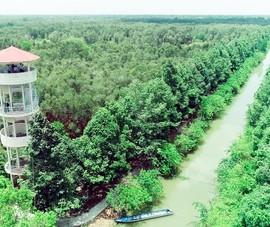 Hậu Giang xây dựng 4 tuyến du lịch nội khu Lung Ngọc Hoàng
