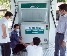 Hậu Giang đã có xe tiêm vaccine lưu động