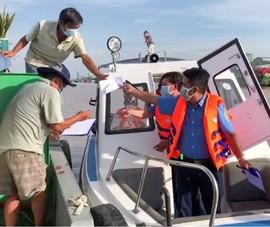 Cần Thơ ra quân kiểm tra ATGT, phòng chống dịch đường thủy