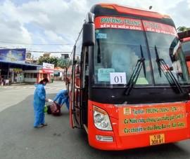 Hậu Giang tiếp tục đón 138 công dân từ TP.HCM về quê