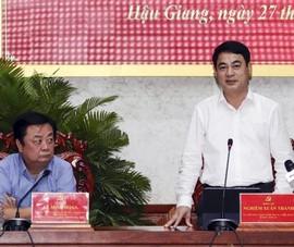 Bộ trưởng Lê Minh Hoan đề nghị Hậu Giang xây dựng cụm liên kết về nông nghiệp