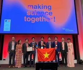 Việt Nam giành 2 Huy chương vàng Olympic Hoá học quốc tế 2019