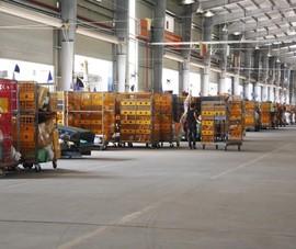 Hệ thống camera dày đặc tại các trung tâm logistics ở Hà Nội