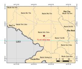 Động đất mạnh ở Sơn La, một số nơi ở TP Hà Nội rung lắc