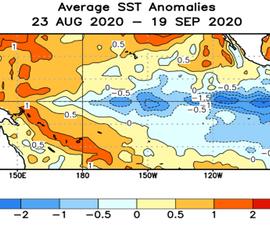 Miền Trung, Nam bộ sẽ dồn dập mưa trái mùa vì La Nina