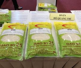 Tranh cãi đem gạo ngon nhất thế giới đi thi để lấy giải... nhì